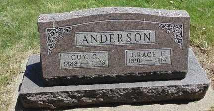 ANDERSON, GRACE H. - Minnehaha County, South Dakota | GRACE H. ANDERSON - South Dakota Gravestone Photos