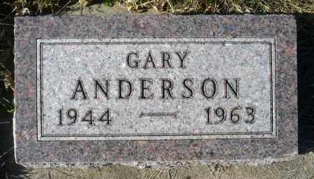 ANDERSON, GARY - Minnehaha County, South Dakota | GARY ANDERSON - South Dakota Gravestone Photos