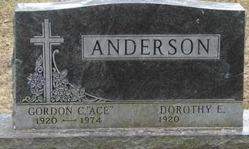 ANDERSON, DOROTHY E. - Minnehaha County, South Dakota | DOROTHY E. ANDERSON - South Dakota Gravestone Photos