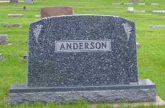 ANDERSON, INEZ G. - Minnehaha County, South Dakota | INEZ G. ANDERSON - South Dakota Gravestone Photos