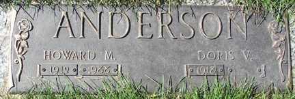 ANDERSON, HOWARD M. - Minnehaha County, South Dakota | HOWARD M. ANDERSON - South Dakota Gravestone Photos
