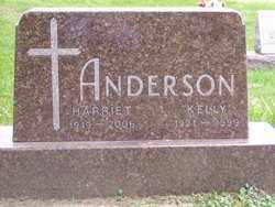 ANDERSON, HARRIET - Minnehaha County, South Dakota | HARRIET ANDERSON - South Dakota Gravestone Photos