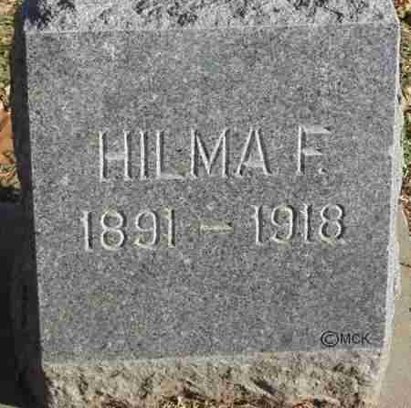 ANDERSON, HILMA F. - Minnehaha County, South Dakota | HILMA F. ANDERSON - South Dakota Gravestone Photos