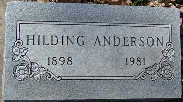 ANDERSON, HILDING - Minnehaha County, South Dakota | HILDING ANDERSON - South Dakota Gravestone Photos