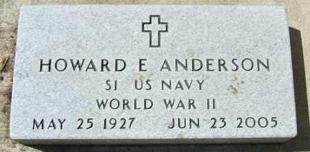 ANDERSON, HOWARD E. (WWII) - Minnehaha County, South Dakota | HOWARD E. (WWII) ANDERSON - South Dakota Gravestone Photos
