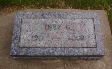 JORGENSON ANDERSON, INEZ G. - Minnehaha County, South Dakota   INEZ G. JORGENSON ANDERSON - South Dakota Gravestone Photos