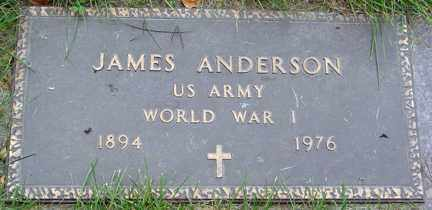 ANDERSON, JAMES - Minnehaha County, South Dakota   JAMES ANDERSON - South Dakota Gravestone Photos