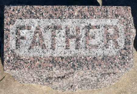 ANDERSON, JOHN W. (FOOTSTONE) - Minnehaha County, South Dakota   JOHN W. (FOOTSTONE) ANDERSON - South Dakota Gravestone Photos