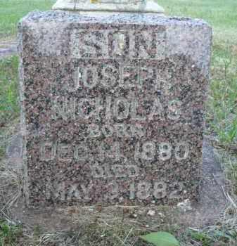 ANDERSON, JOSEPH NICHOLAS - Minnehaha County, South Dakota | JOSEPH NICHOLAS ANDERSON - South Dakota Gravestone Photos