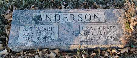 ANDERSON, ORAL - Minnehaha County, South Dakota | ORAL ANDERSON - South Dakota Gravestone Photos