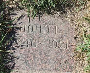 ANDERSON, JOHN L. - Minnehaha County, South Dakota   JOHN L. ANDERSON - South Dakota Gravestone Photos