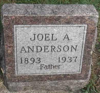 ANDERSON, JOEL A. - Minnehaha County, South Dakota | JOEL A. ANDERSON - South Dakota Gravestone Photos