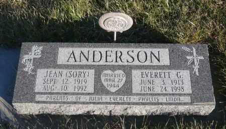 ANDERSON, EVERETT G. - Minnehaha County, South Dakota | EVERETT G. ANDERSON - South Dakota Gravestone Photos