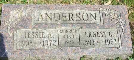ANDERSON, ERNEST G. - Minnehaha County, South Dakota | ERNEST G. ANDERSON - South Dakota Gravestone Photos