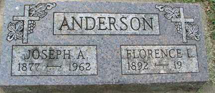 ANDERSON, JOSEPH A. - Minnehaha County, South Dakota | JOSEPH A. ANDERSON - South Dakota Gravestone Photos