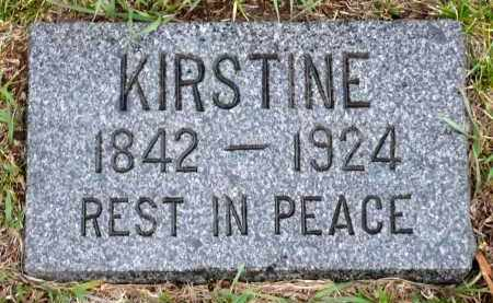 ANDERSON, KIRSTINE - Minnehaha County, South Dakota | KIRSTINE ANDERSON - South Dakota Gravestone Photos