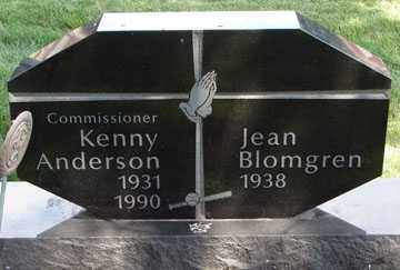ANDERSON, KENNY - Minnehaha County, South Dakota | KENNY ANDERSON - South Dakota Gravestone Photos