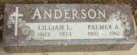 ANDERSON, PALMER A. - Minnehaha County, South Dakota | PALMER A. ANDERSON - South Dakota Gravestone Photos