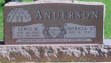 ANDERSON, PATRICIA A. - Minnehaha County, South Dakota | PATRICIA A. ANDERSON - South Dakota Gravestone Photos