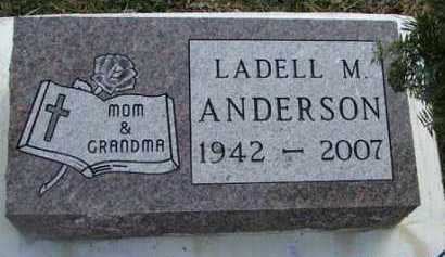 ANDERSON, LADELL M. - Minnehaha County, South Dakota | LADELL M. ANDERSON - South Dakota Gravestone Photos