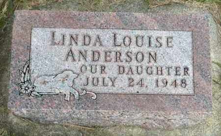 ANDERSON, LINDA LOUISE - Minnehaha County, South Dakota | LINDA LOUISE ANDERSON - South Dakota Gravestone Photos