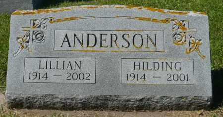 ANDERSON, HILDING - Minnehaha County, South Dakota | HILDING ANDERSON - South Dakota Gravestone Photos