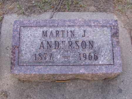ANDERSON, MARTIN JOHN - Minnehaha County, South Dakota | MARTIN JOHN ANDERSON - South Dakota Gravestone Photos