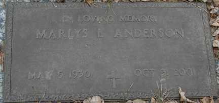 ENGEN ANDERSON, MARLYS L. - Minnehaha County, South Dakota | MARLYS L. ENGEN ANDERSON - South Dakota Gravestone Photos