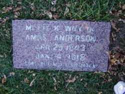 ANDERSON, METTE K. - Minnehaha County, South Dakota | METTE K. ANDERSON - South Dakota Gravestone Photos