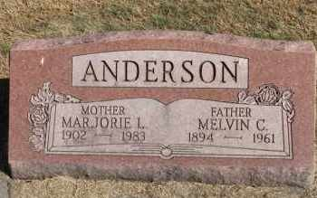 ANDERSON, MARJORIE L. - Minnehaha County, South Dakota | MARJORIE L. ANDERSON - South Dakota Gravestone Photos