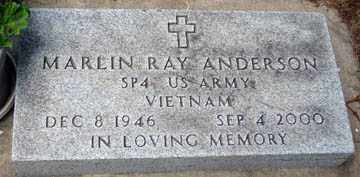 ANDERSON, MARLIN RAY (VIETNAM) - Minnehaha County, South Dakota | MARLIN RAY (VIETNAM) ANDERSON - South Dakota Gravestone Photos