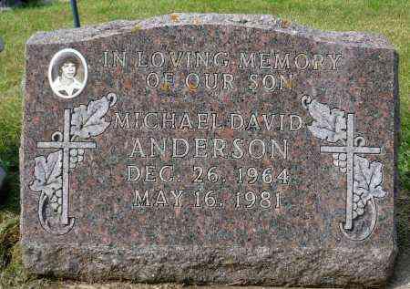 ANDERSON, MICHAEL DAVID - Minnehaha County, South Dakota | MICHAEL DAVID ANDERSON - South Dakota Gravestone Photos