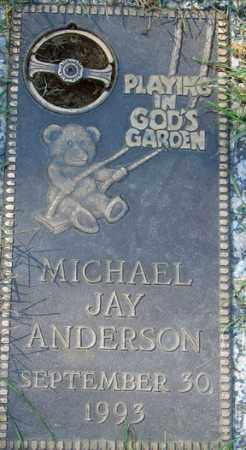 ANDERSON, MICHAEL JAY - Minnehaha County, South Dakota | MICHAEL JAY ANDERSON - South Dakota Gravestone Photos