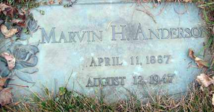 ANDERSON, MARVIN H. - Minnehaha County, South Dakota | MARVIN H. ANDERSON - South Dakota Gravestone Photos