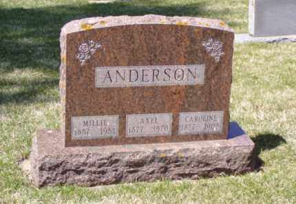 ANDERSON, AXEL PETER - Minnehaha County, South Dakota | AXEL PETER ANDERSON - South Dakota Gravestone Photos