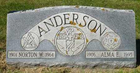 ANDERSON, NORTON - Minnehaha County, South Dakota   NORTON ANDERSON - South Dakota Gravestone Photos
