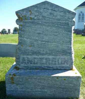 ANDERSON, NELS - Minnehaha County, South Dakota | NELS ANDERSON - South Dakota Gravestone Photos