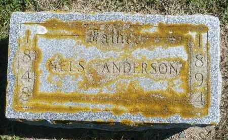 ANDERSON, NELS - Minnehaha County, South Dakota   NELS ANDERSON - South Dakota Gravestone Photos
