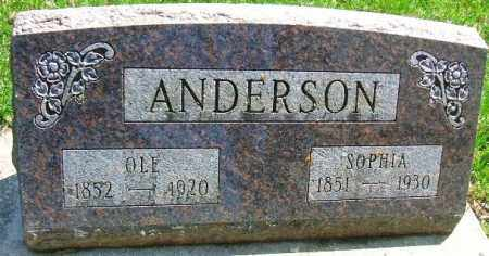 ANDERSON, SOPHIA - Minnehaha County, South Dakota | SOPHIA ANDERSON - South Dakota Gravestone Photos