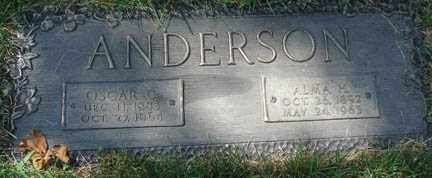 ANDERSON, OSCAR C. - Minnehaha County, South Dakota | OSCAR C. ANDERSON - South Dakota Gravestone Photos