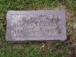 ANDERSON, OSCAR F. - Minnehaha County, South Dakota | OSCAR F. ANDERSON - South Dakota Gravestone Photos