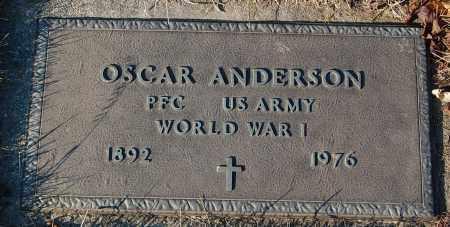 ANDERSON, OSCAR (WW I) - Minnehaha County, South Dakota | OSCAR (WW I) ANDERSON - South Dakota Gravestone Photos