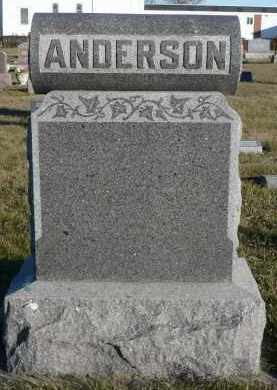 ANDERSON, JULETTE O. - Minnehaha County, South Dakota | JULETTE O. ANDERSON - South Dakota Gravestone Photos