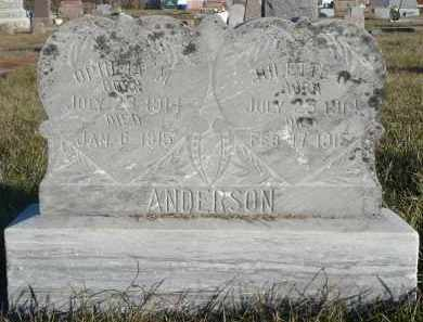 ANDERSON, OPHILIA M. - Minnehaha County, South Dakota | OPHILIA M. ANDERSON - South Dakota Gravestone Photos