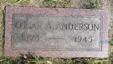ANDERSON, OSCAR A. - Minnehaha County, South Dakota | OSCAR A. ANDERSON - South Dakota Gravestone Photos