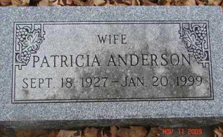 ANDERSON, PATRICIA - Minnehaha County, South Dakota | PATRICIA ANDERSON - South Dakota Gravestone Photos