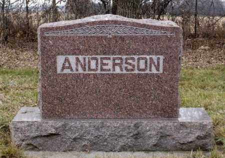 ANDERSON, ANNA - Minnehaha County, South Dakota | ANNA ANDERSON - South Dakota Gravestone Photos