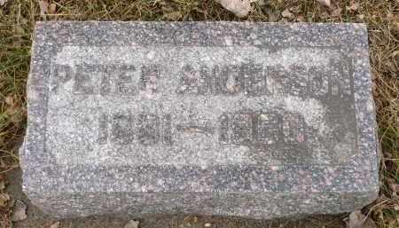 ANDERSON, PETER - Minnehaha County, South Dakota   PETER ANDERSON - South Dakota Gravestone Photos