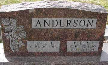 ANDERSON, ELSIE L. - Minnehaha County, South Dakota | ELSIE L. ANDERSON - South Dakota Gravestone Photos