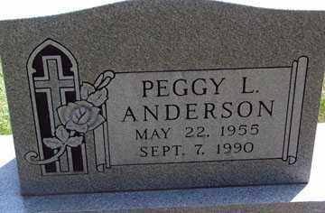 ANDERSON, PEGGY L. - Minnehaha County, South Dakota | PEGGY L. ANDERSON - South Dakota Gravestone Photos